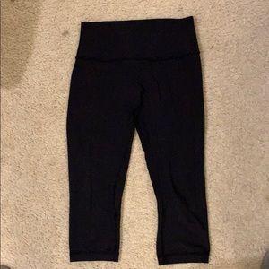 Lululemon crop black align leggings